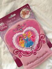 Disney Princess Bath Mitt Pink Soft Terry Cloth Belle Cinderella Aurora Nwt