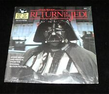 Star Wars Return of the Jedi 1993 Read Along Book Record Sealed