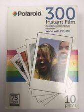 VINTAGE POLAROID CAMERA 300 INSTANT FILM 10 PRINTS PIC-300 PHOTOGRAPHY PHOTO
