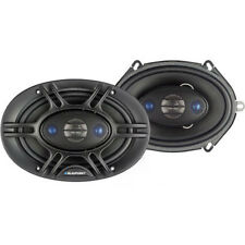 NEW (2) 5x7 Car Audio Speakers.Full Range Coaxial Pair.4 ohm.OEM w/ grilles.180w
