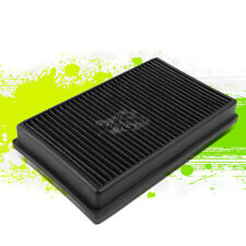 WASHABLE DROP IN PANEL PERFORMANCE AIR FILTER BLACK FOR 15-17 A3/S3/TT/GTI/GOLF