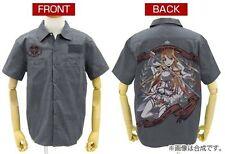 Sword Art Online II Asuna the Flash Gray Shirt Size L Full Color Back Cospa SAO