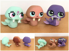 Littlest Pet Shop LOT 3 WALRUS MORSE 977 1511 2882 MUSIC NOTE BLIND BAG