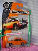 2017 Matchbox #94 '70 DATSUN 610 RALLY☆Orange; Bilstein 9☆EXPLORERS☆case l/m