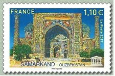 France 2017 UNESCO World Heritage Sites Samarkand Ousbekistan  Uzbekistan 1v mnh