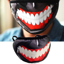 Anime Tokyo Special Ghoul Kaneki Ken Mask Cotton Prop Cosplay Ghost ZombieFace