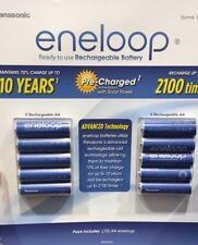 Panasonic Eneloop Rechargeable Battery 10 AA