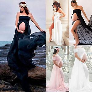Sumen Women Sleeveless Pregnant Maternity Dress Flower Maternity Clothes