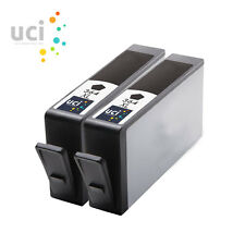 2 Black 364 XL UCI® Ink Cartridge fits for DeskJet 3070A Photosmart 5510 5515