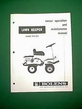 BOLENS LAWN KEEPER MODEL # 915-03 OWNER'S MANUAL