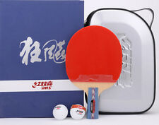 DHS Hurricane #1 No.1 Table Tennis Paddle, PingPong Racket, Chinese Penhold, AUD