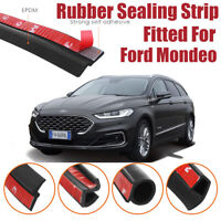 Car Seal Strip Kit Rubber Weather Draft Wind Noise Reduction For Ford Mondeo