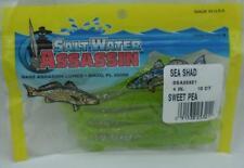 "Bass Assassin SSA25321 4"" Mar Sábalo Color Guisante 24190"