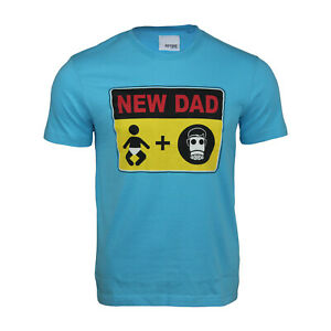 Men's Funny Short Sleeved 100% Cotton Printed T-Shirt Tops