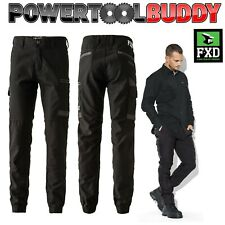 FXD Trousers WP-4 Duratech Cuffed Work Cargo Combat Multi Pocket Workwear 30-38