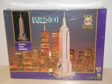 WREBBIT PUZZ 3D EMPIRE STATE BUILDING 902 PIECES NEW AND SEALED!!!