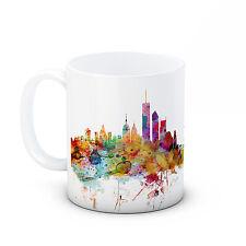 New York NYC Skyline, USA America Cityscape - High Quality Ceramic Mug