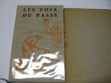 FRENCH JUDAICA BOOK in Slipcase Les Voix du passé: EVoices from the paste, récit