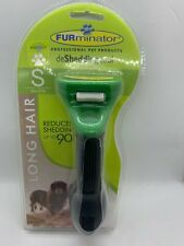 FURminator deShedding Tool for Small Dogs Long Hair Up to 20 lbs