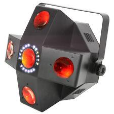 QTX Collider 5 Lens LED Moonflower With Strobe Mobile Disco Light