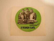 "Vintage Nos Arctic Cat ""3 Tough Cats"" Decal"