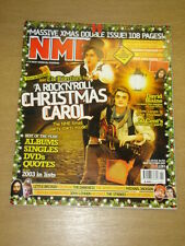 NME 2003 DEC 20 LIBERTINES  DAVID BLAINE 50 CENT LENNON