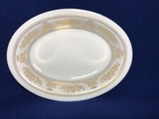 """WEDGWOOD GOLD COLUMBIA - 10"""" Oval Vegetable Bowl - Excellent Condition"""