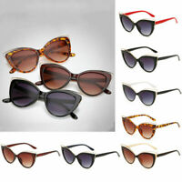 Fashion Retro Women Vintage Cat Eye UV400 Sunglasses Eyewear Shades Eye Glasses