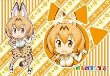 Kemono Friends Serval Card Game Character Rubber Play Mat Collection Vo.95 Anime