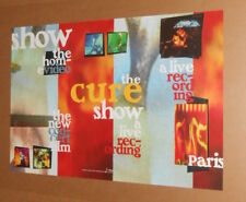 The Cure Show a Live Recording Poster Original Promo 20x30
