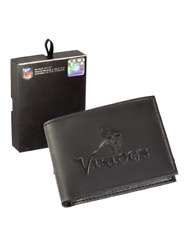 37dda3348 Vikings Bifold Leather Wallet