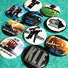 "THE KLF - 10 (ten) Pinback 1"" Buttons (JAMMs 2023 Cauty Drummond) FREE shipping!"
