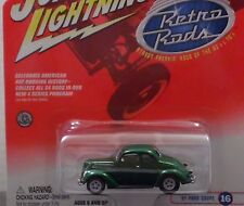 Johnny Lightning White Lightning 1932 Ford Coupe Retro Rods 1/64 Scale