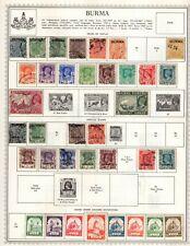 Burma Collection from Pretty Minkus Album
