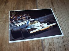 Photo / Photograph  Peter Revson McLAREN Ford M23 Barcelona 1973 //