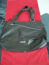 KENNETH COLE REACTION BLACK PURSE PVC SHOULDER BAG