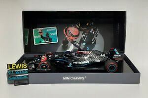Model Car Diecast Scale 1:18 MINICHAMPS F1 Mercedes AMG Hamilton Eifel 2020