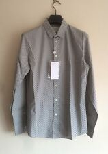 Maison MARTIN MARGIELA riflettente a Pois Camicia in cotone it46 (si adatta come M)