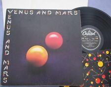 WINGS Venus and Mars UK CAPITOL 1st INNER 2 POSTERS Paul McCartney Beatles