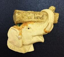 ELEPHANT THAI 3D THAILAND FRIDGE MAGNET RESIN CRAFT HANDMADE SOUVENIR GIFT CW03