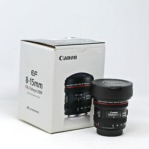 Canon EF 8-15mm f/4L Fisheye USM Lens UK NEXT DAY DELIVERY