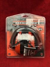 NEW RADIANS Terminator 29 Hearing Protection Earmuffs Red/Black TR0160CS