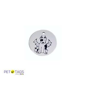 Halloween Dog ID Collar Tag Devil Dog