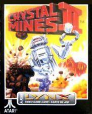 Crystal Mines 2 II Atari Lynx Game NEW