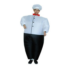 Halloween Chef Inflatable Adult Costume Jumpsuit Halloween Party Fancy Dress