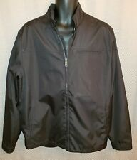 71a4a932e Old Navy Black Basic Polyester Zip Up Jacket NWOT - Mens XL