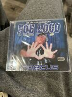 Foe Loco Foecus CD Black Market Records OOP HTF Rare Sac Cali Mr Doctor ODY 1071