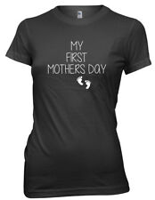 My First Mothers Day  Funny Womens Ladies T-Shirt