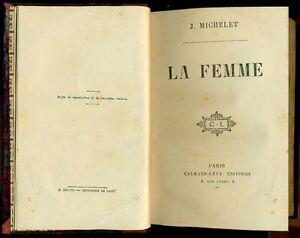 MICHELET Jules, La femme