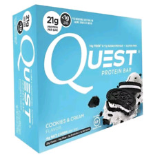 Quest Bar Cookies and Cream Protein Bars 4Ct